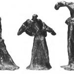 """""""Alltäglichkeiten"""", Bronze, 1988"""