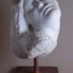"""""""Kopf (Lisa)"""", Marmor, 2003"""